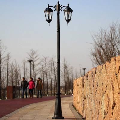 贺州太阳能庭院灯厂家-LED庭院灯价格UP-205款式图片