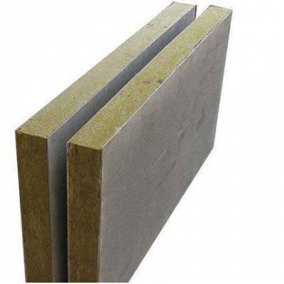 外墙砂浆岩棉板A级水泥竖丝复合板河南厂家