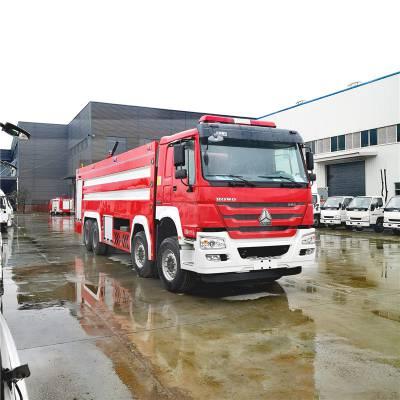 重汽豪沃PM240型泡沫消防车性能介绍及参数图片