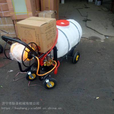 科圣农田果园小麦喷雾机 高压拉管式多功能喷雾器 四轮推车式消毒机