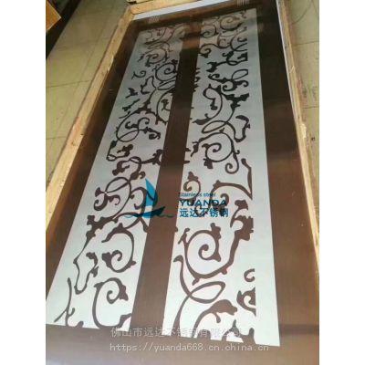 北京304不锈钢蚀刻镜面钛金板 美观大气经久耐用 电梯装饰板专用源自远达
