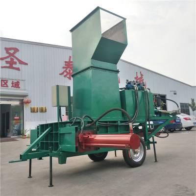 大理牧草青储秸秆打捆机 大麦青贮打捆机 玉米秸秆粉碎打包机厂家