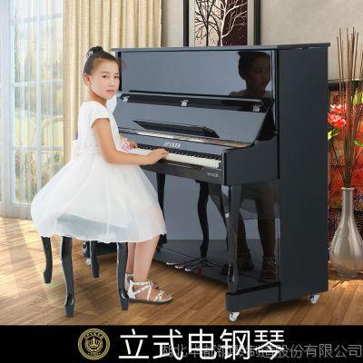 电钢琴源头厂家L123专业练习考级88键重锤数码电钢琴
