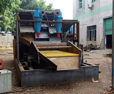 大型细沙回收机厂-大型细沙回收机-百洪机械运行平稳