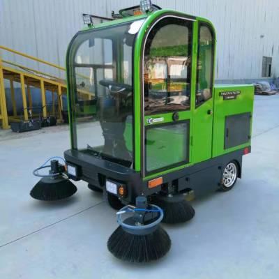 博锐环卫供应驾驶式扫地机清扫车工厂车间物业小区道路电动清扫车工业<b>扫地车</b>