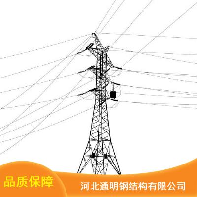 Q345猫头型输电线塔_通明防腐蚀输电线塔_空间桁架输电线塔报价