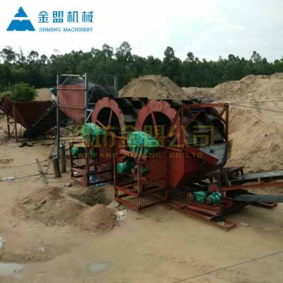 忻州洗风化砂可以用水轮洗砂机吗