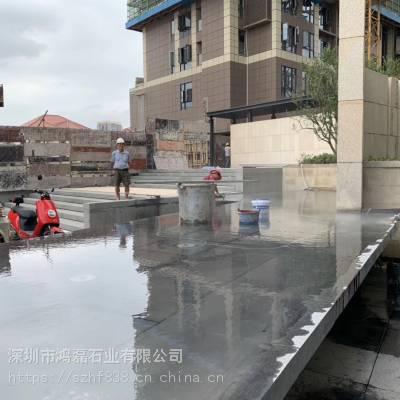深圳天然青石板 铺地老石板 旧石板 台阶石 古道石 古建复