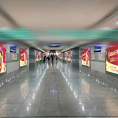 长沙高铁广告,长沙站高铁灯箱广告