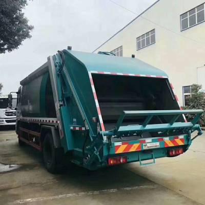 后装压缩式垃圾车8吨压缩式垃圾运输车生产厂家