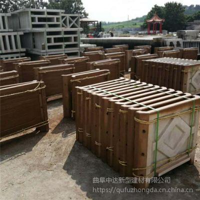 水泥花盆 园林景观仿木组合花箱 安徽厂家直供 批发