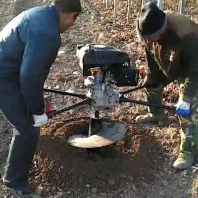 农用果园施肥打坑机 硬土质挖坑机 园林植树大马力挖坑机