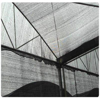黑色扁丝遮阳网 六针防晒网 夏季防晒网布