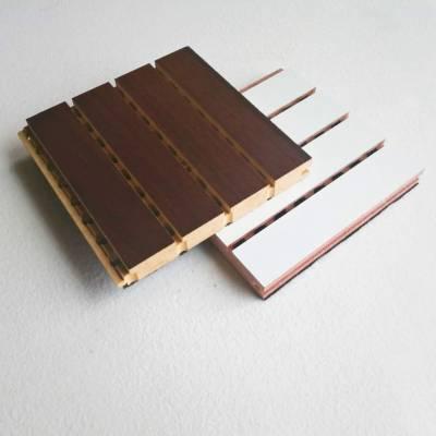 专业定制多功能厅室内防火防潮木质吸音板