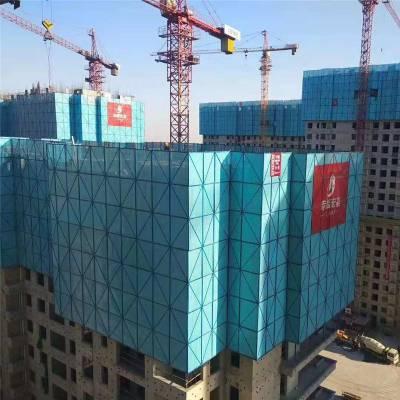 重庆外架钢网片价格 外墙防护网片 建筑安全网片