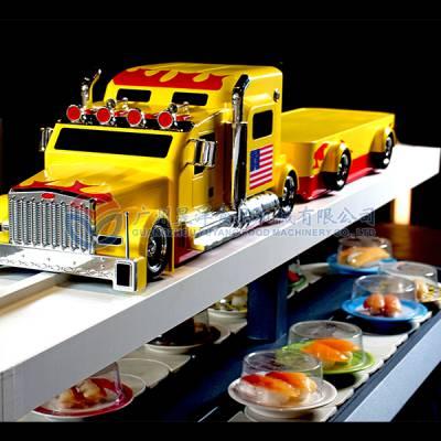 自助餐设备厂家直销 广州昱洋仿真卡车送餐设备