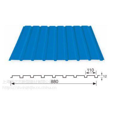 吉林YX11.5-118-880波浪彩钢版产量稳定