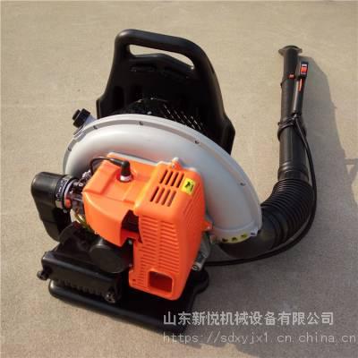 新悦汽油背负式吹风机 路面垃圾清理吹尘机 大棚吹雪机价格