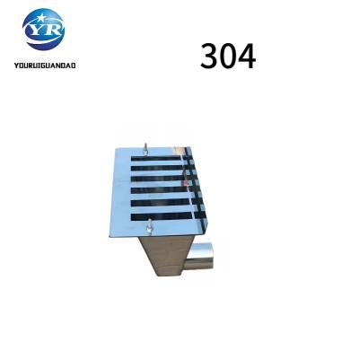 友瑞牌不锈钢侧入式雨水斗 304保材质 L=200按图定制