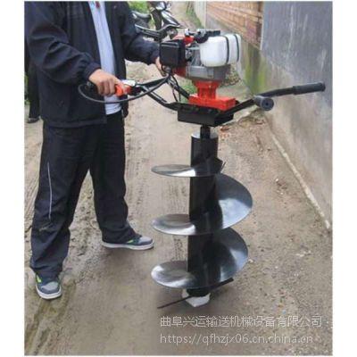 丹东手提式打坑机 葡萄种植埋桩挖穴耐用