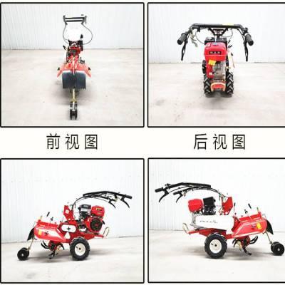 单轮开沟培土微耕机 开沟起垄机 中耕培土机