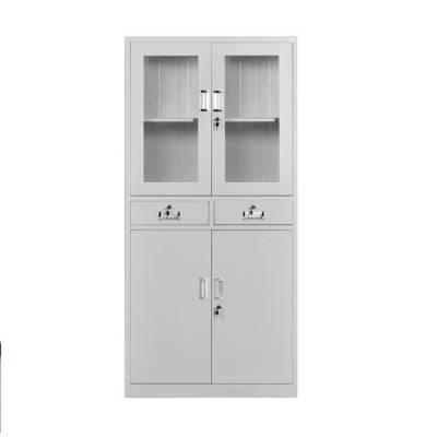 熊猫牌九江文件柜定做铁皮柜储物柜定制玻璃器械仪器柜(厂家直销)