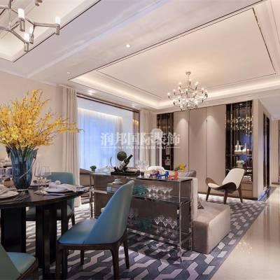 雅居乐滨江国际280平方米现代风格装修设计方案-南京润邦国际装饰