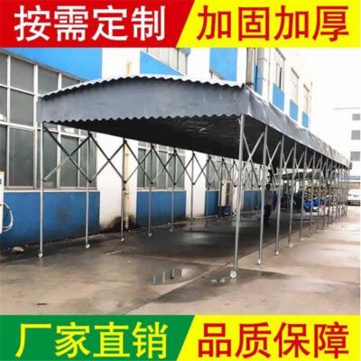 宣城市专业雨棚厂家 提供推拉篷 雨棚厂家直销