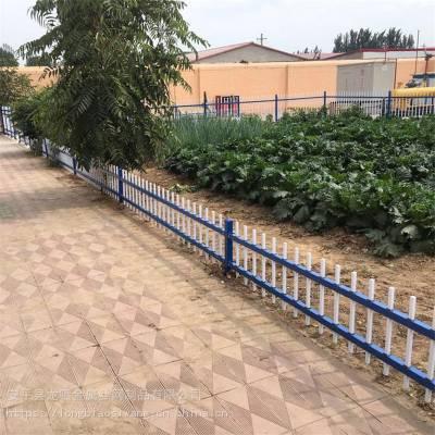 园林绿化带护栏 塑钢草坪栅栏 道路隔离网