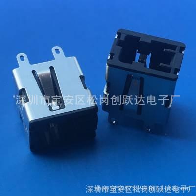 吉利USB/插座(帝豪EC7)母座180度°直插 立式 车用USB插口 端子