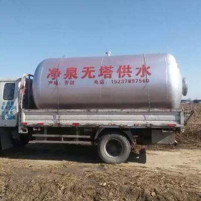 净泉50吨压力罐无塔供水无塔供水设备 上水快