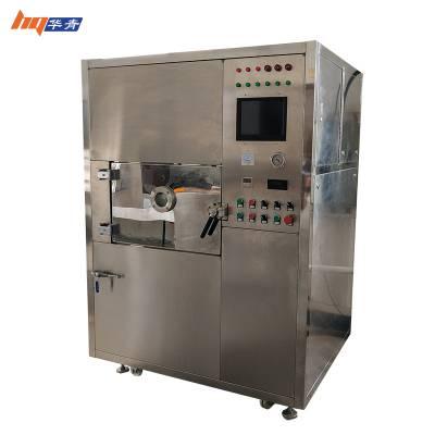 华青微波真空干燥机药膏低温烘干杀菌真空微波干燥机