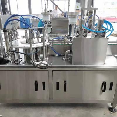 广东佛山哪里有卖ZGX-110西林瓶全自动灌装轧盖机生产线多少钱?厂家直销价