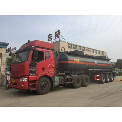 31吨次氯酸钠衬塑罐车, 氢氟酸罐车生产厂家