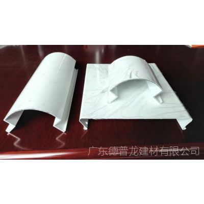 供应加油站柱子包柱铝圆角【柱子四角包边铝单板】白色高光R-60圆角铝