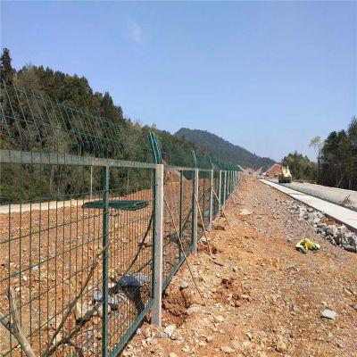 供应高铁铁路防护栅栏 桥下铁路护栏网 铁路防护栅栏门