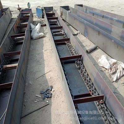 可弯曲刮板输送机定制 灰渣链式刮板输送机铭扬机械
