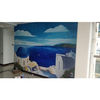 南宁墙画墙体彩绘手绘墙