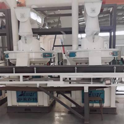 湖南新型木屑颗粒机厂家 恒美百特锯末造粒机型号