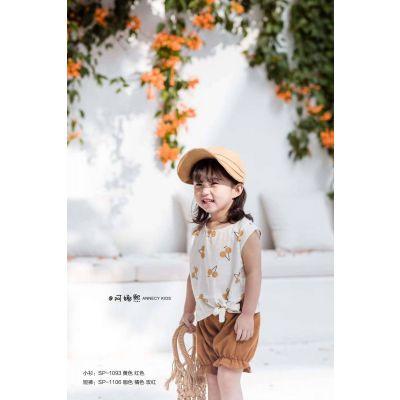 韩版童装【沐蕾】【阿娜熙】女童连衣裙夏 品牌折扣童装批发货源 女童连衣裙