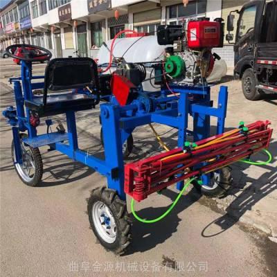 自走式高杆玉米打药机 果园杀虫风送式喷雾器 三轮座驾防疫打药车