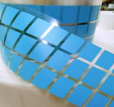 河北耐高温标签 撕下不留残胶高温条码纸厂家 可移高温二维码标签纸 高温标签厂家直销10*10MM