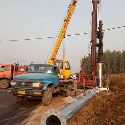 黑龙江省35kv高压电力杆价格 35kv高压钢杆型号 霸州市顺通电力设备厂