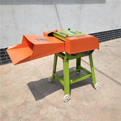 家用小型高喷铡草机 多功能青贮铡草机