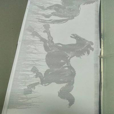 艺术冲孔幕墙氟碳单板-军辉铝单板厂家