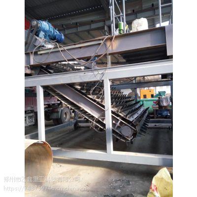 乙鑫FDJ-24型有机肥发酵设备链板式翻堆机设计合理承诺守信