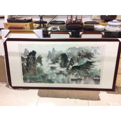 深圳龙华科技园做相框做画框的地方 哪里有十字绣装裱店