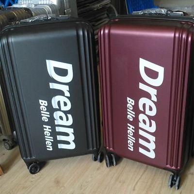 私人订制铝盒箱UV打印机 3D浮雕拉杆箱UV印花机