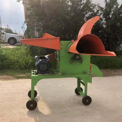 揉丝机多功能铡草粉碎机 干湿两用铡草玉米秸秆青草饲料粉碎机