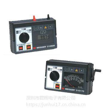 美国megger扩展范围的绝缘电阻测试仪 210170 及 210600